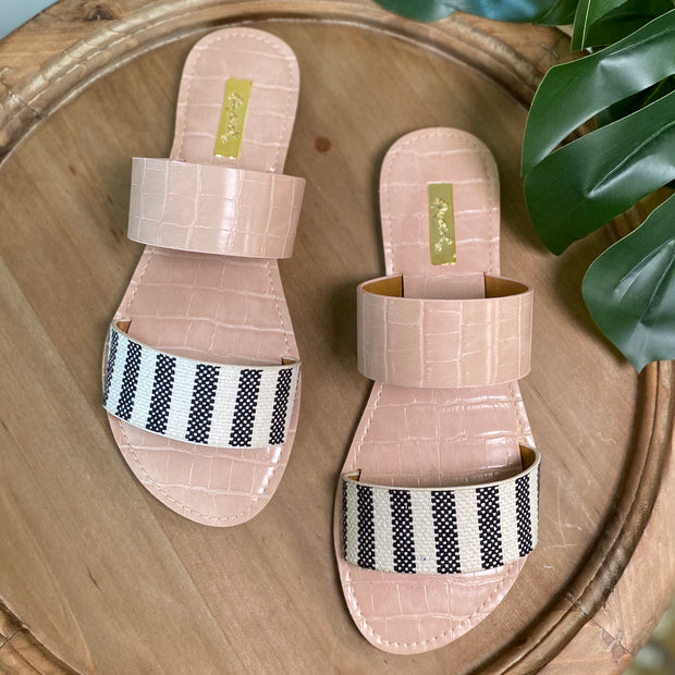 "Qupid ""Athena"" Sandals"