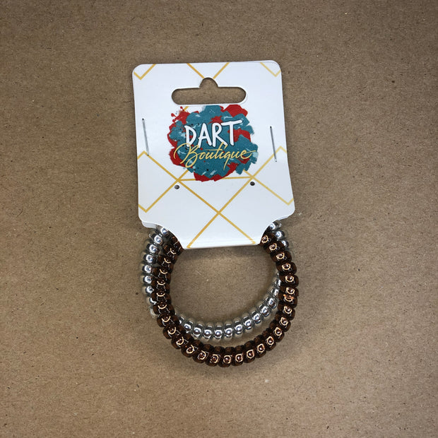 Phone Cord Hair Ties 2 Pack