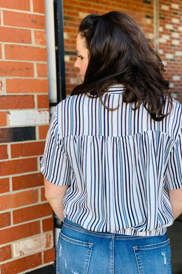Audrey Striped Top
