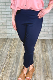 Erica Dress Pants - Navy