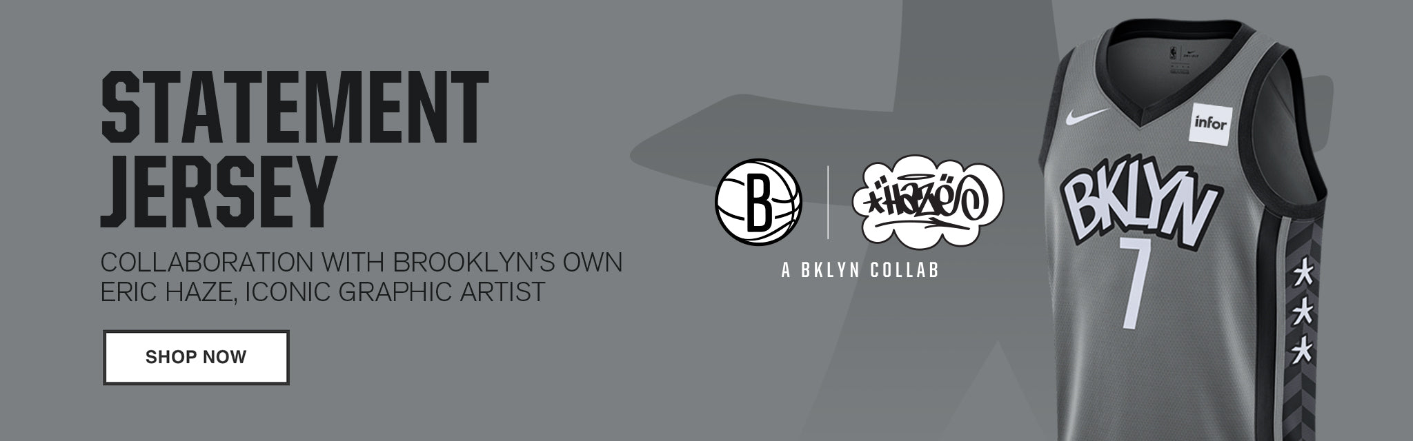 Statement Edition Banner Image - Brooklyn Nets