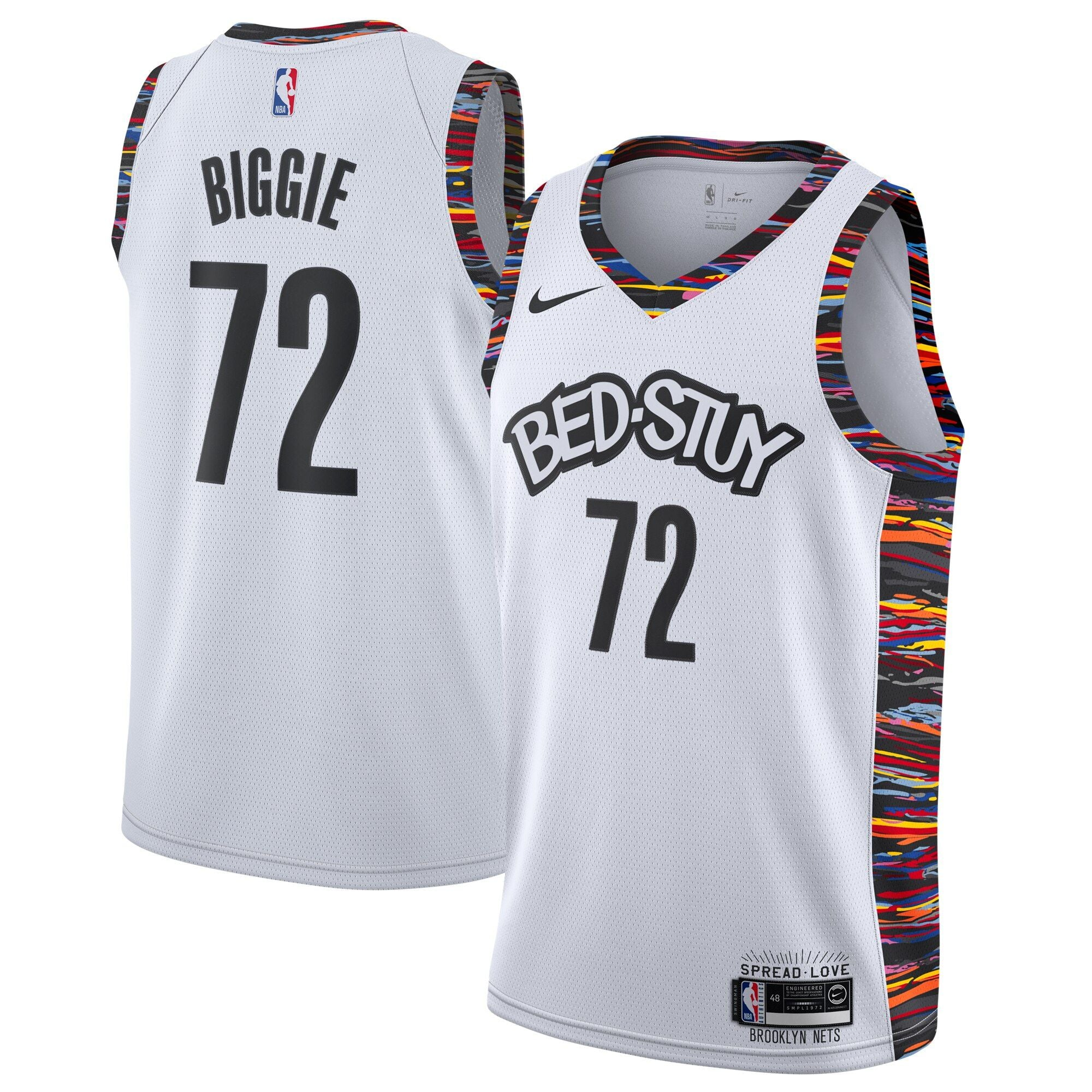 City Edition Biggie #72 Music Collection Jersey - NetsStore.com