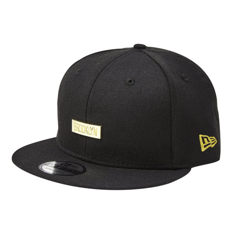 Brooklyn Etched Gold Badge Snapback