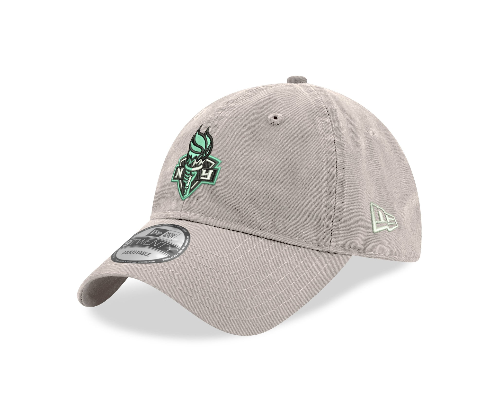New York Liberty 9Twenty Primary Logo Cap - Stone - NetsStore.com