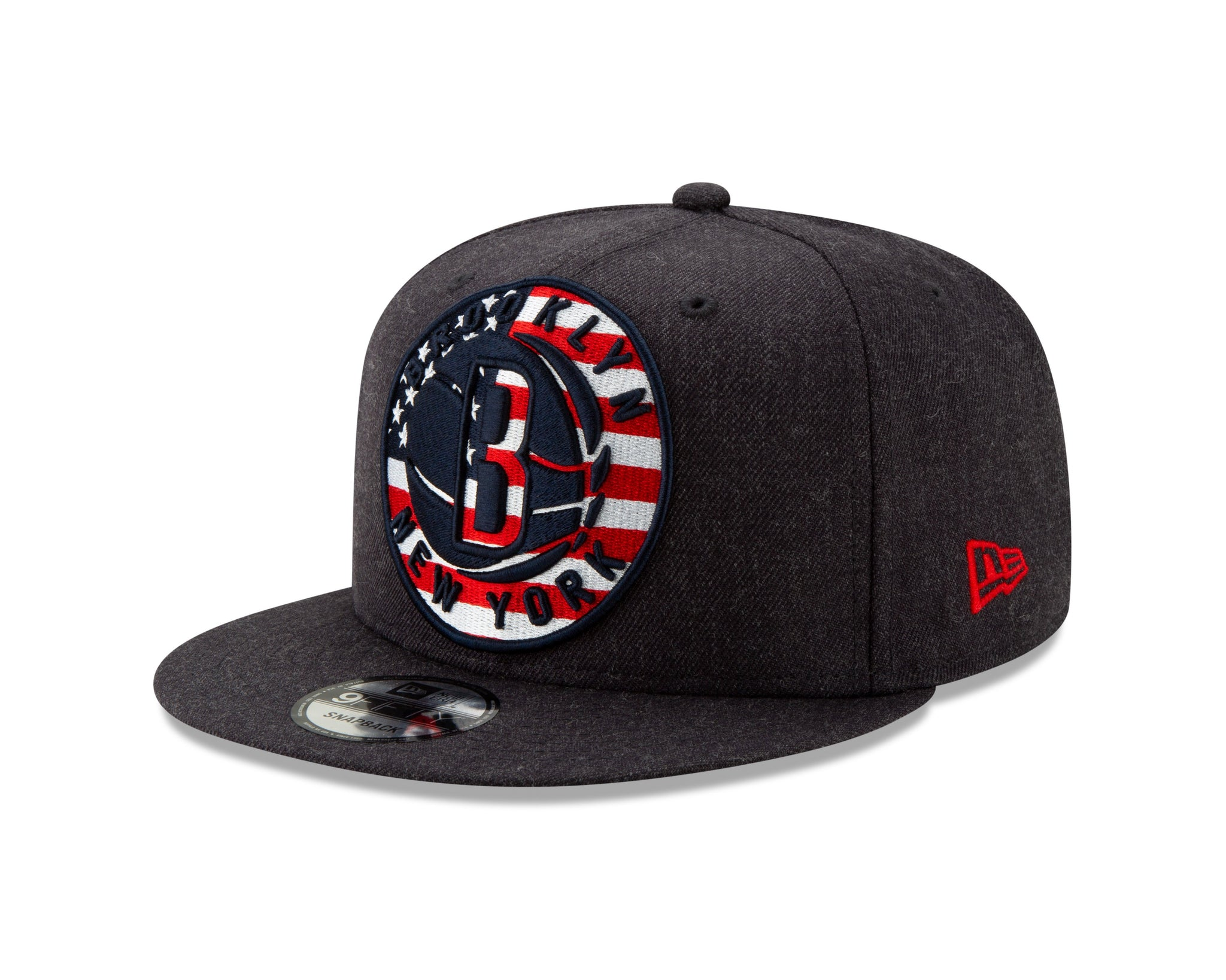 Brooklyn Nets New Era 9Fifty Americana Logo Snapback Hat - Navy - NetsStore.com