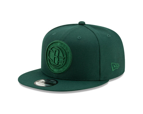 Primary Logo Tonal 9Fifty Snapback - Dark Green - NetsStore.com