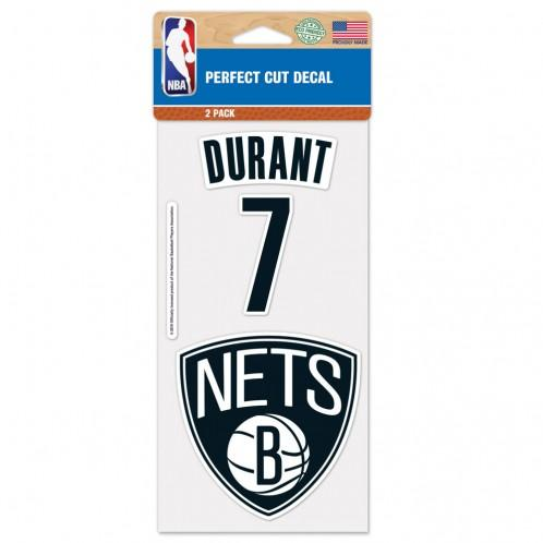 Durant #7 2Pack Perfect Cut Decal - NetsStore.com