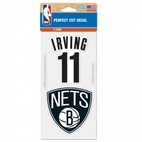 Irving #11 2Pack Perfect Cut Decal - NetsStore.com