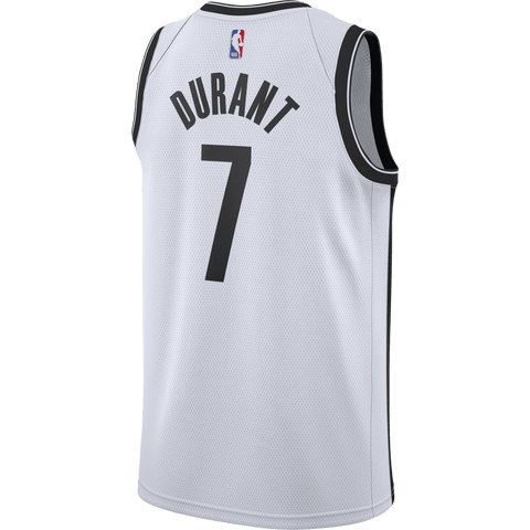 Brooklyn Nets Kevin Durant Adult Nike Association Swingman Jersey - NetsStore.com