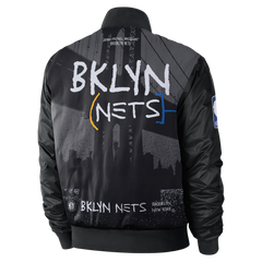 Men's 20-21 City Edition Nike Courtside Jacket - NetsStore.com