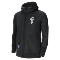 Men's 20-21 City Edition Therma Flex Showtime Full Zip Hoodie - NetsStore.com