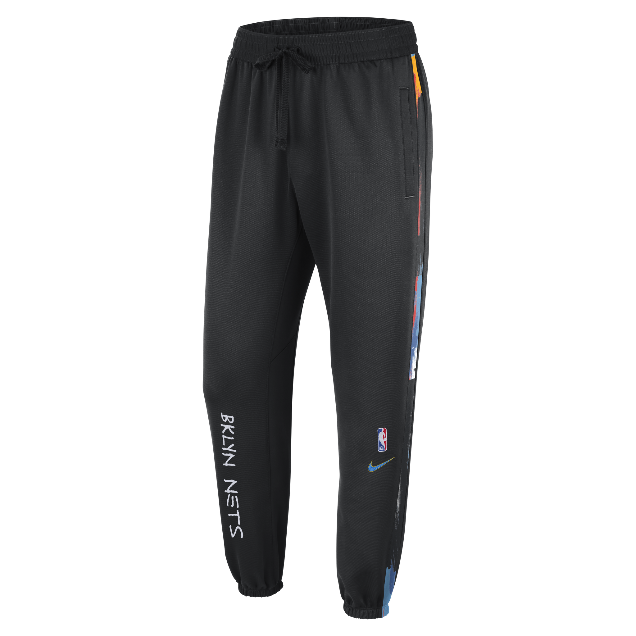 Men's 20-21 City Edition Therma Flex Showtime Pants - NetsStore.com