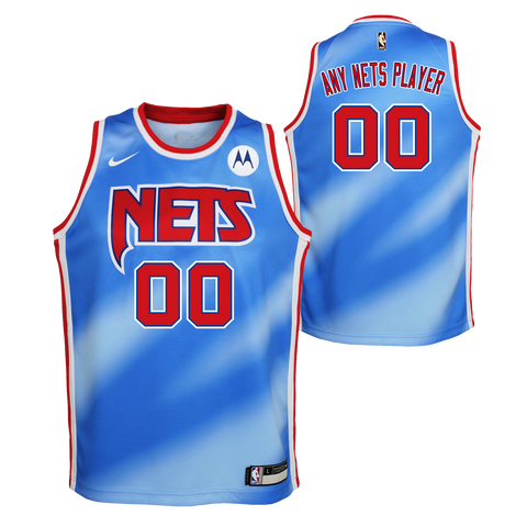 Youth Classic Edition Swingman Custom Jersey - NetsStore.com