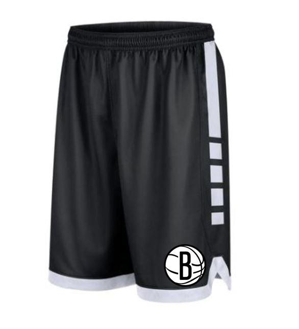 Men's Nike Elite Stripe Dri-Fit Shorts - NetsStore.com