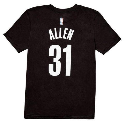Youth Allen Name and Number Tee - NetsStore.com