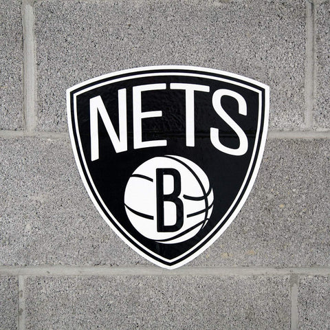 "Applied Icon Outdoor Décor Brooklyn Nets Primary Logo 12"" Outdoor Graphic"