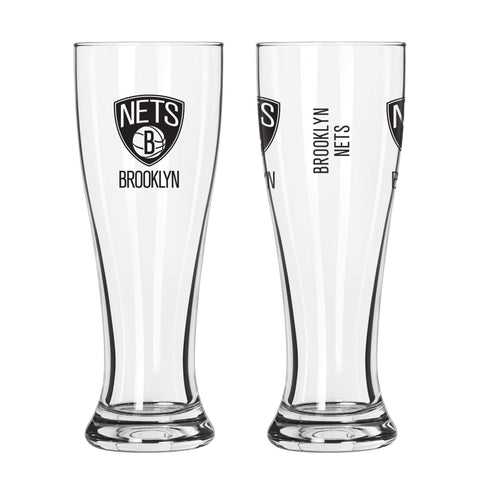 Brooklyn Nets Boelter 16oz Gameday Pilsner Glass - NetsStore.com