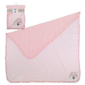 Brooklyn Nets Accessories PINK / OSFA Brooklyn Nets Newborn Baby Blanket - Pink