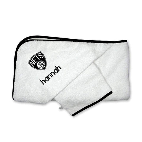 Personalized Hooded Towel - NetsStore.com