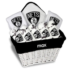 Chad & Jake Accessories Brooklyn Nets Personalized Large Gift Basket by Chad & Jake