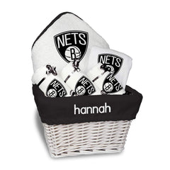 Chad & Jake Accessories Brooklyn Nets Personalized Medium Gift Basket by Chad & Jake