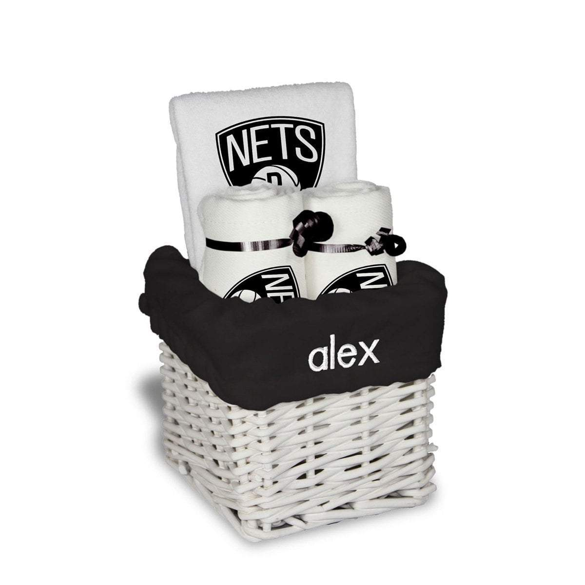 Chad & Jake Accessories Brooklyn Nets Personalized Small Gift Basket by Chad & Jake