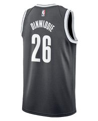 Spencer Dinwiddie #26 Adult Icon Swingman Jersey - NetsStore.com