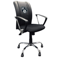 Dreamseat Home & Office Brooklyn Nets Dreamseat Primary Logo NBA Curve Task Chair
