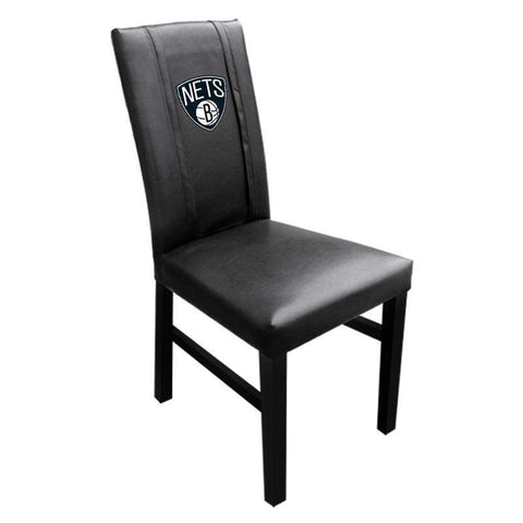Brooklyn Nets Primary Logo Side Chair - NetsStore.com