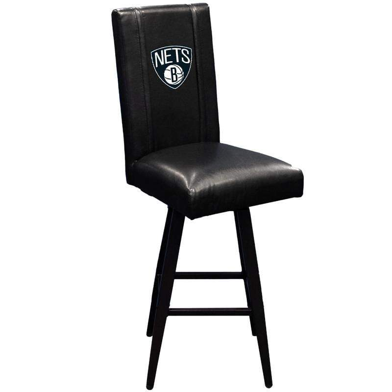 Dreamseat Home & Office Brooklyn Nets Dreamseat Primary Logo NBA Swivel Bar Stool Pack