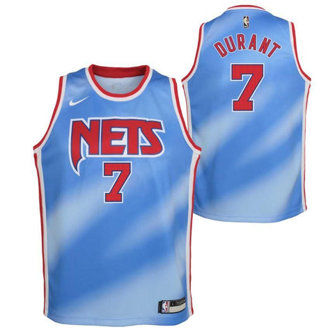 Youth Kevin Durant #7 Classic Edition Swingman Jersey - NetsStore.com