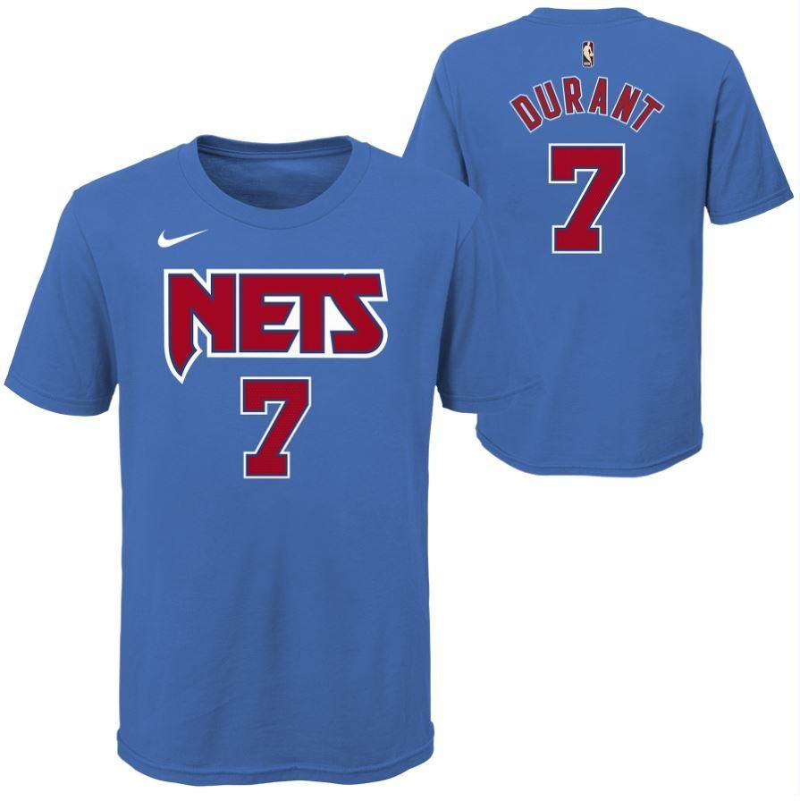 Youth Classic Edition Durant #7 Player Tee - NetsStore.com