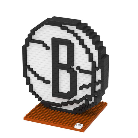 Forever Collectibles Puzzles Brooklyn Nets Forever Collectibles Brxlz Team Logo