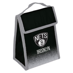 Forever Collectibles Lunch Box Brooklyn Nets Forever Collectibles Lunch Box Cooler Bag - Black/Grey