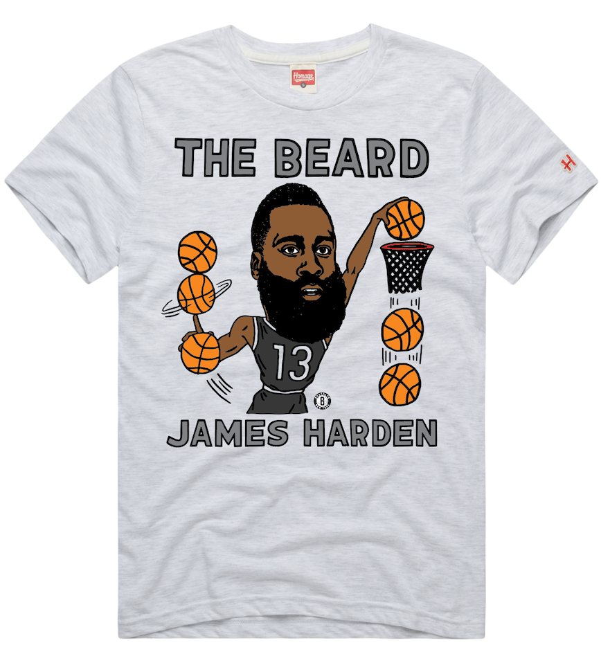 "Men's James Harden ""The Beard"" Graphic Tee"