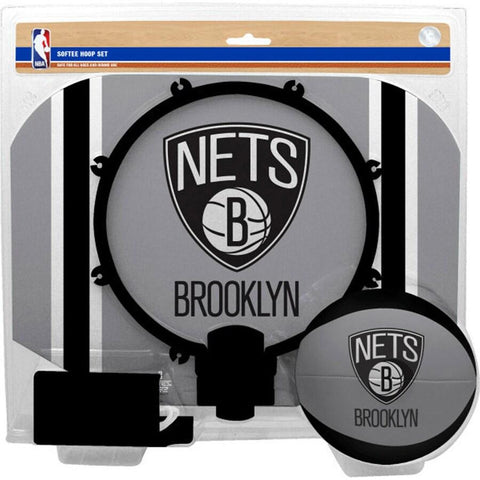 Softee Hoop & Ball Set - NetsStore.com