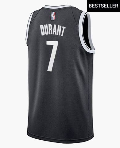 Brooklyn Nets Kevin Durant Adult Nike Icon Swingman Jersey - NetsStore.com