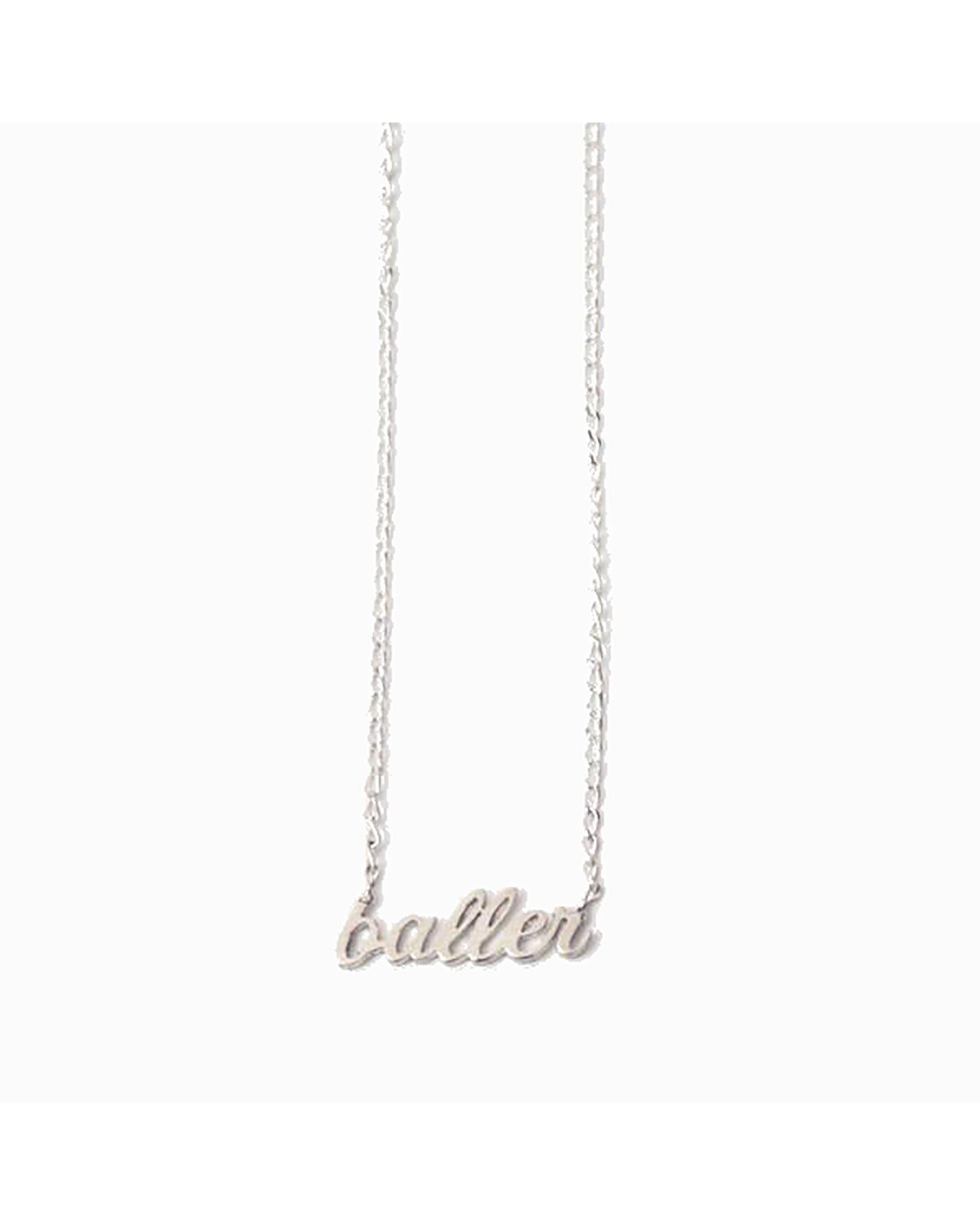 In God We Trust Jewelry Brooklyn Cool 'Baller' Necklace by In God We Trust