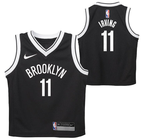 Brooklyn Nets Kyrie Irving Kids Nike Icon Swingman Jersey - NetsStore.com