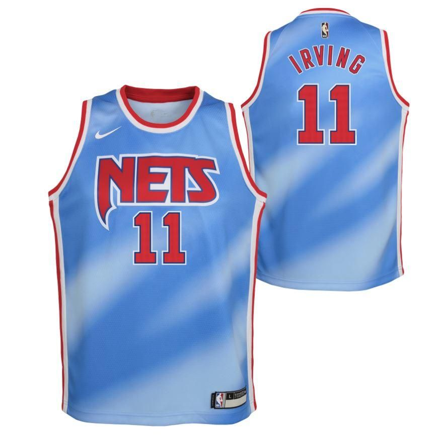 Youth Kyrie Irving #11 Classic Edition Swingman Jersey - NetsStore.com