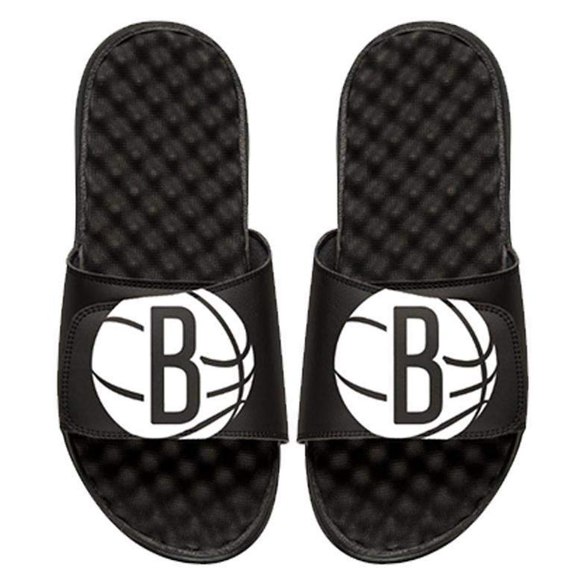 Brooklyn Nets Oversized Basketball Logo Slides by iSlide - NetsStore.com