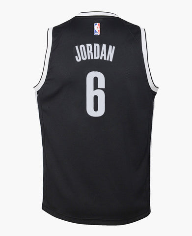 Brooklyn Nets DeAndre Jordan Youth Nike Icon Swingman Jersey - NetsStore.com