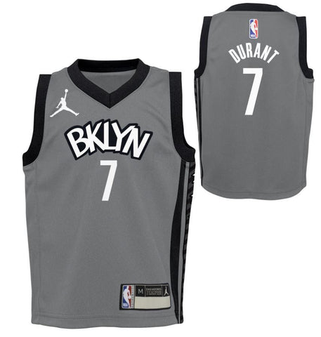 Kids 20-21 Statement Edition Kevin Durant #7 Replica Jersey - NetsStore.com