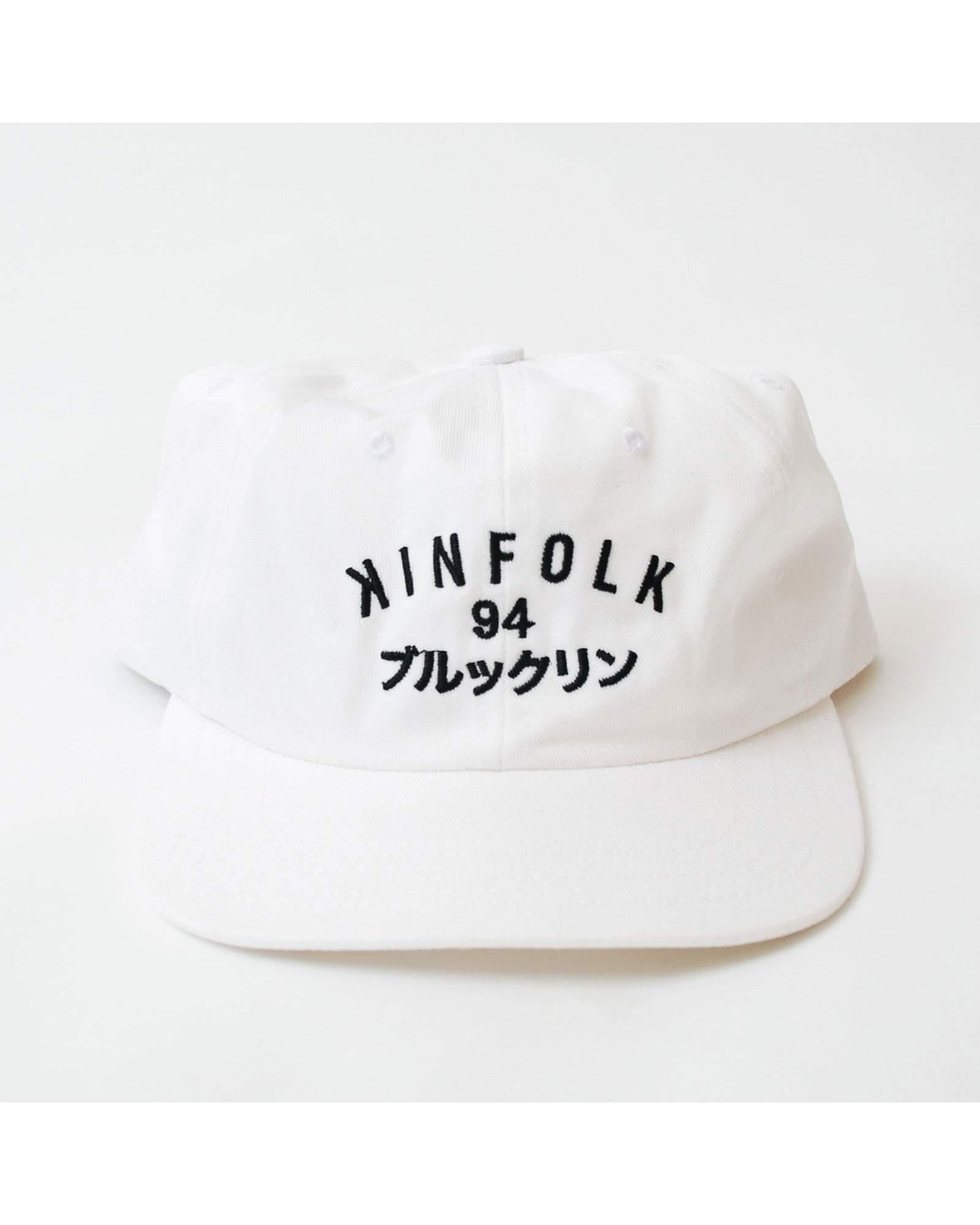Kinfolk Hats WHT / ADJ Brooklyn Cool Kinfolk 94 Dad Hat - White