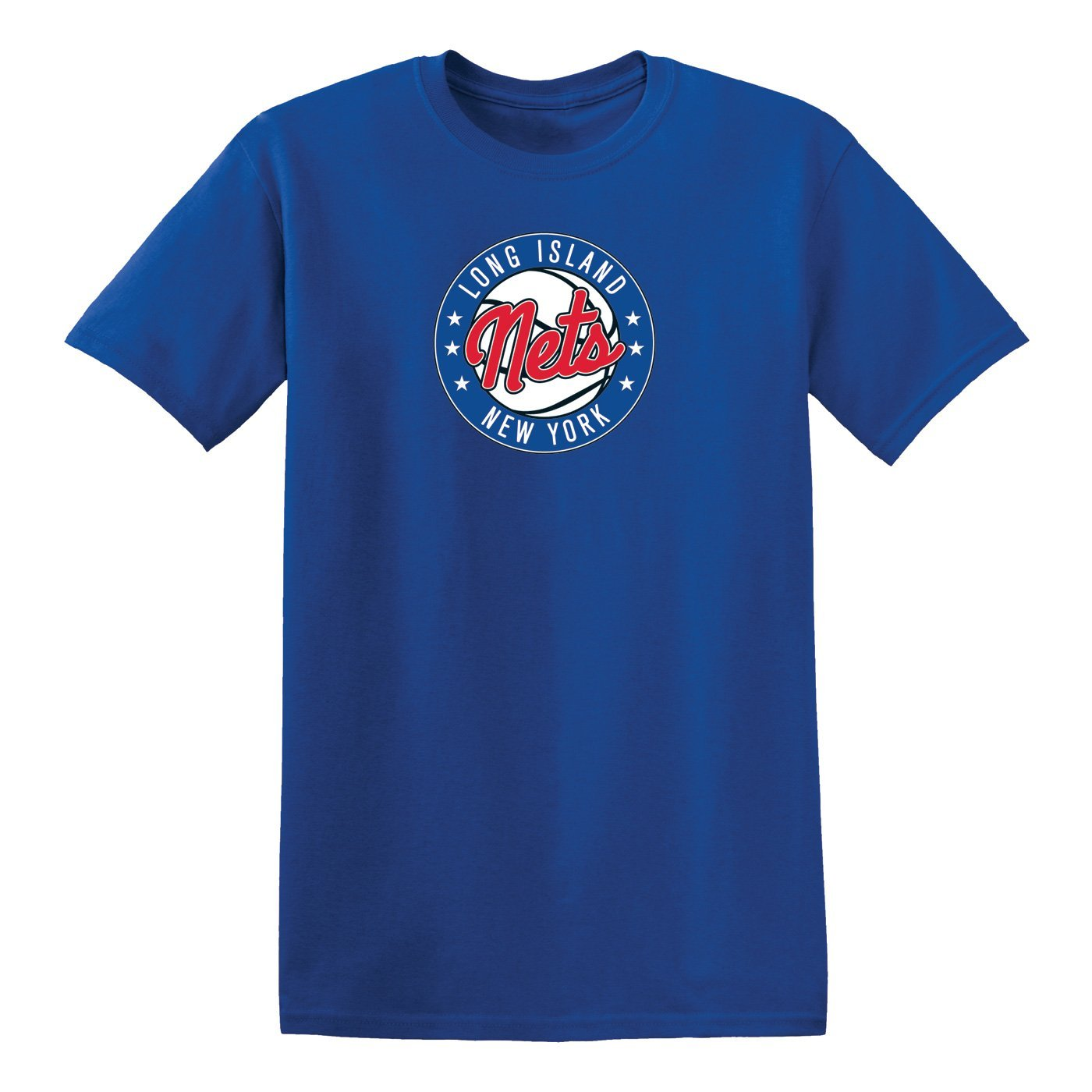Long Island Nets Tees RYL / S Long Island Nets Men'S Primary Logo Tee - Blue