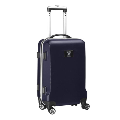 "Mojo-Denco Luggage Brooklyn Nets Denco 20"" Hardcase Luggage Carry-on Spinner - Navy"