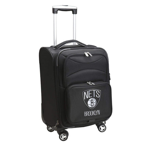 "Brooklyn Nets 20"" Softsided Luggage Carry-on Spinner - NetsStore.com"