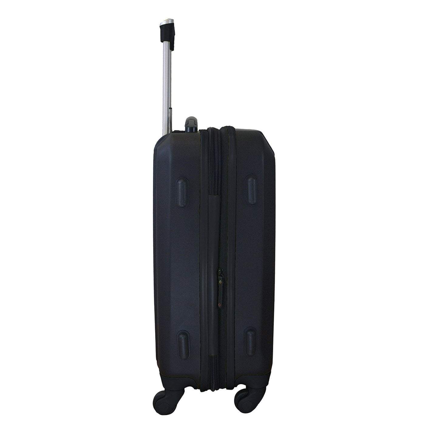 "Mojo-Denco Luggage Brooklyn Nets Mojo 21"" Hardcase Two-tone Luggage Carry-on Spinner - Black"