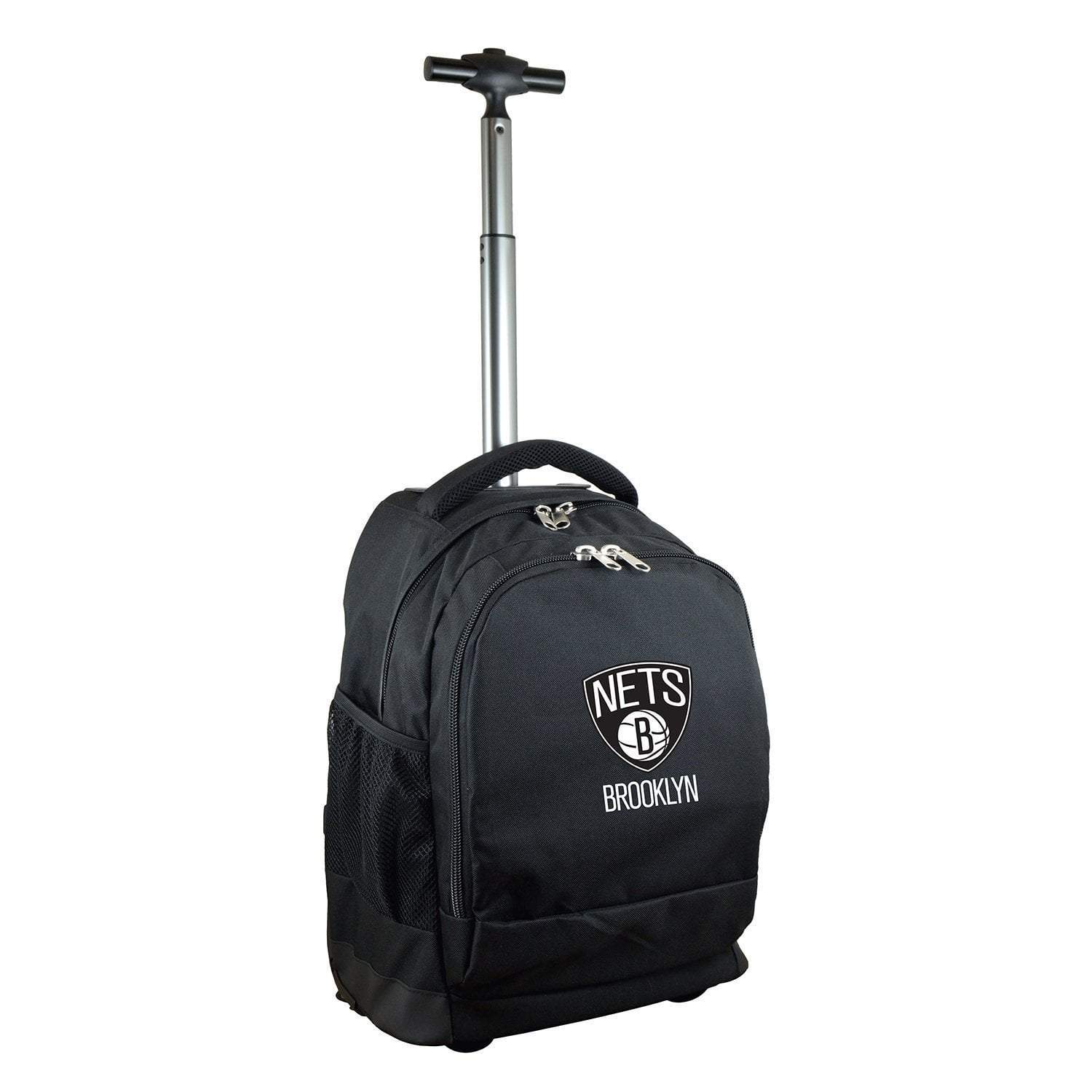 Mojo-Denco Backpack Brooklyn Nets Mojo Wheeled Premium Backpack - Black