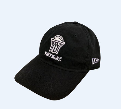 New Era Hat Nets GC Primary Logo 9Twenty Slouch Hat - Black